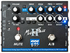 EBS MicroBass II 2 Channel Bass Preamp / DI
