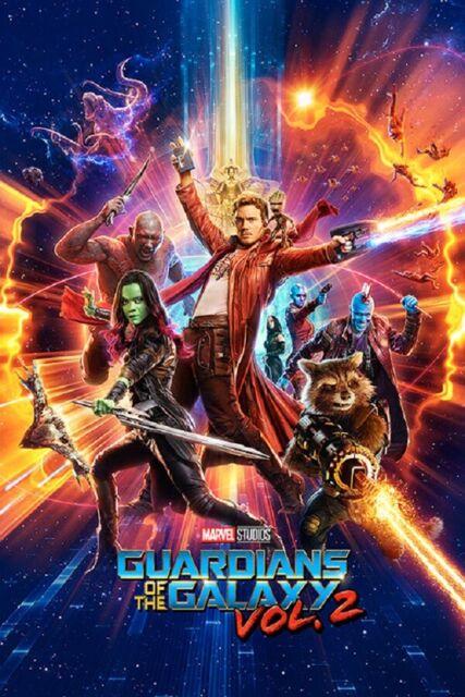 Guardians of the Galaxy Movie Poster Print 8x10 11x17 16x20 22x28 24x36 27x40