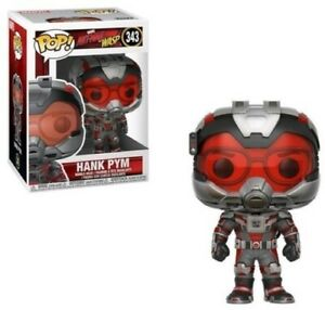 FUNKO-POP-MARVEL-Ant-Man-amp-The-Wasp-Hank-Pym-New-Toys-Vinyl-Figure