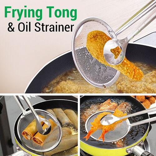Edelstahl Braten Essen Löffel Sieb Sieb Filter Küchen Werkzeug Kochgeschirr