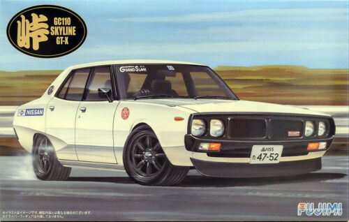 Nissan Skyline GT-X GC110 in 1:24 Model Kit Bausatz Fujimi 046068