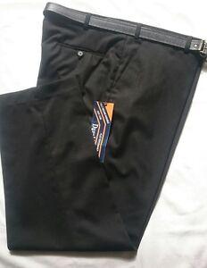 52 Durapress 42 da pantaloni pollici nera a Nuovi con vita cintura da xFHUqSPw
