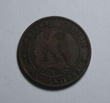 DIX Centimes  Frankreich France French Münze Francaise 1856 TOP! (G5)