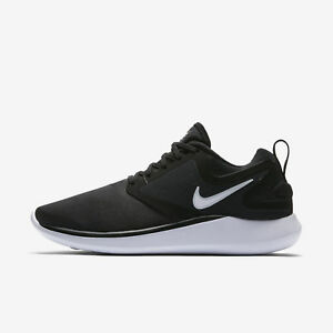 NIKE Womens Nike Lunarsolo AA4080-001 BLACK/WHITE-ANTHRACITE Womens Size 5