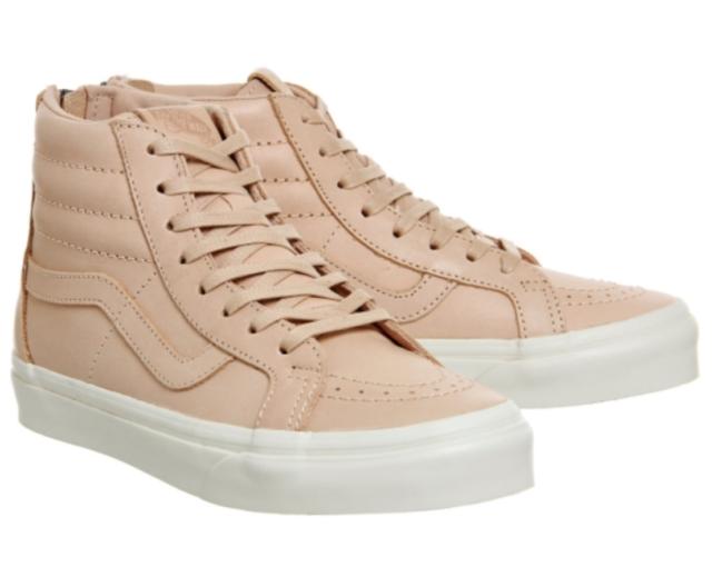 VANS Sk8 Hi Reissue Zip Veggie Tan Leather Men s Shoes 10 US for ... c290fa072