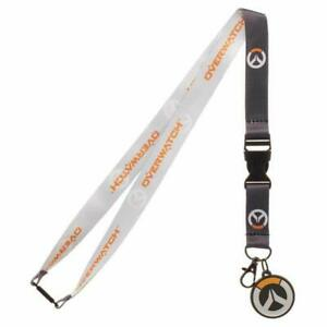Overwatch-Logo-Lanyard-with-ID-Holder-amp-Charm-New