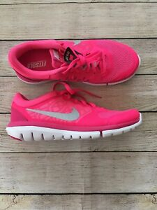 Nike Flex Fitsole Women's Hot Pink Sz 8