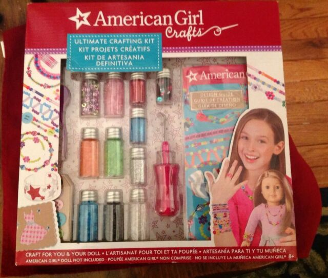 American Girl Ultimate Crafting Kit 2day Ship For Sale Online Ebay