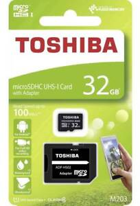 Toshiba 32GB Micro SD 100MB/s Memory card for GoPro Hero+LCD Action Camera