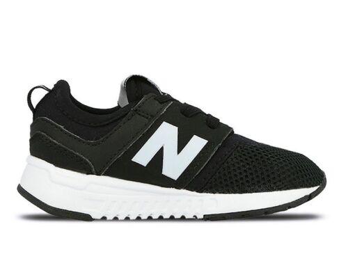 New Balance Infant/&Toddlers/' 247 CLASSIC Running Shoes Black//White KA247BGI b