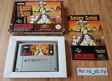 Super Nintendo SNES Lucky Luke PAL