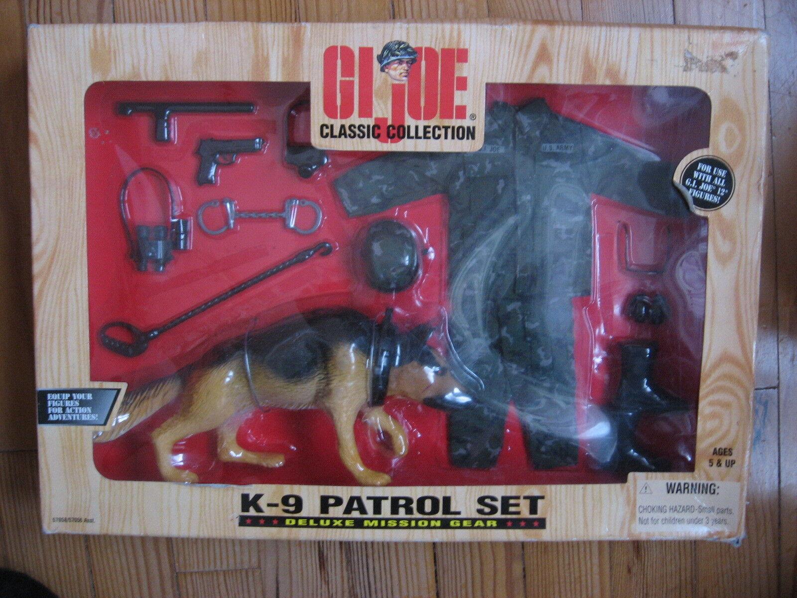 1 6 PANOPLY GI JOE MAN 1979 ACTION K-9 PATROL SET