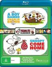 A Boy Named Charlie Brown / Snoopy, Come Home (Blu-ray, 2015)