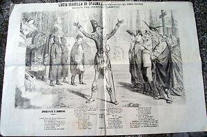 1866-GIORNALE-UMORISTICO-DI-FIRENZE-LA-SCOSSA-ELETTERICA-INCISIONE-ANTIBORBONICA