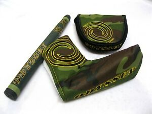 Odyssey-Camo-Putter-Headcover-Griff-choose-combination-from-menu-NEW