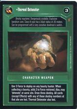 Star Wars CCG Jabbas Palace Card Thermal Detonator