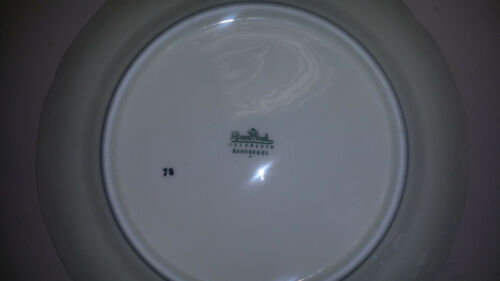 "Rosenthal Sanssouci Germany Sanssouci Rosen Soup Bowl, 8 34"" Fine China"