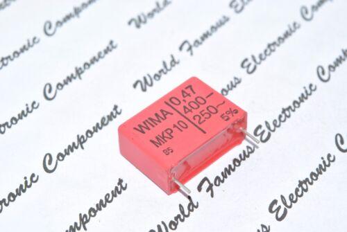 WIMA MKP10 0.47uF 0,47µF 470nF 400V 5/% pitch:22.5mm Capacitor 2pcs