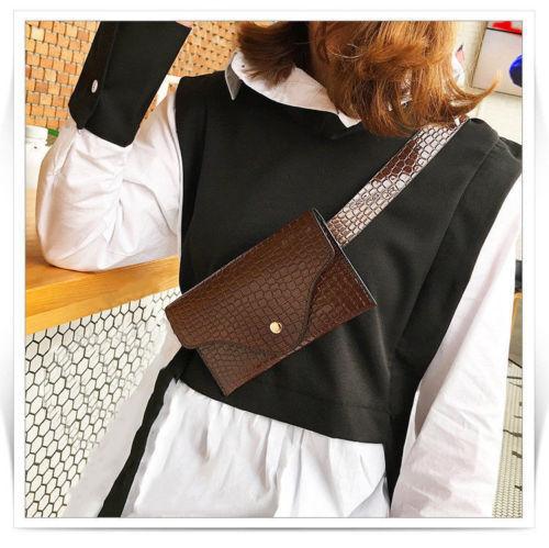 Womens Fashion Waist Fanny Pack Belt Bags Pouch Travel Hip Bum Mini Purse Xmas