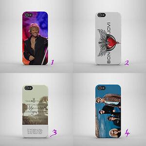 Alerte Bon Jovi / American Rock Band / Jon Dur Téléphone Coque Pour Iphone / Samsung Modèles-afficher Le Titre D'origine Faire Sentir à La Facilité Et éNergique