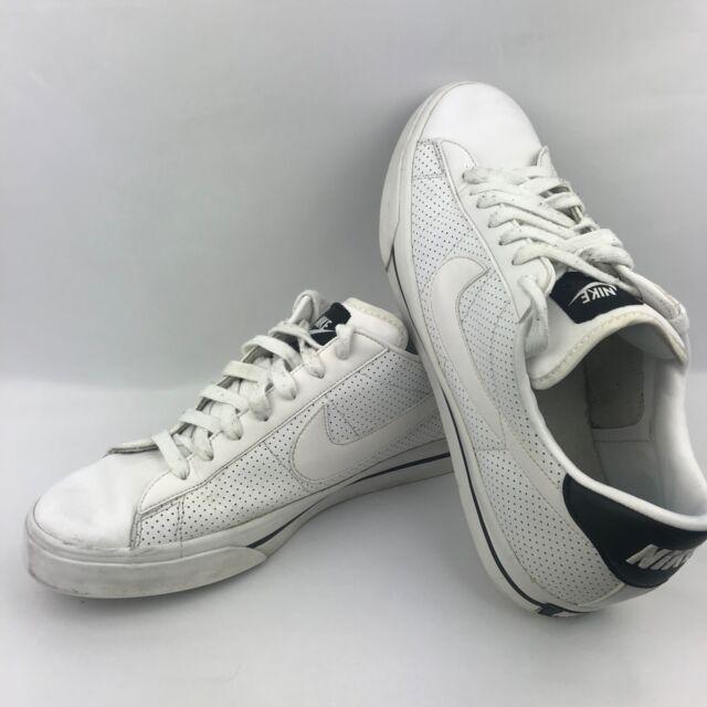 brandy Escalofriante nadar  RARE 2011 Nike Sweet Classic Leather Shoes 318333-103 Size 13 White & Black  for sale online   eBay