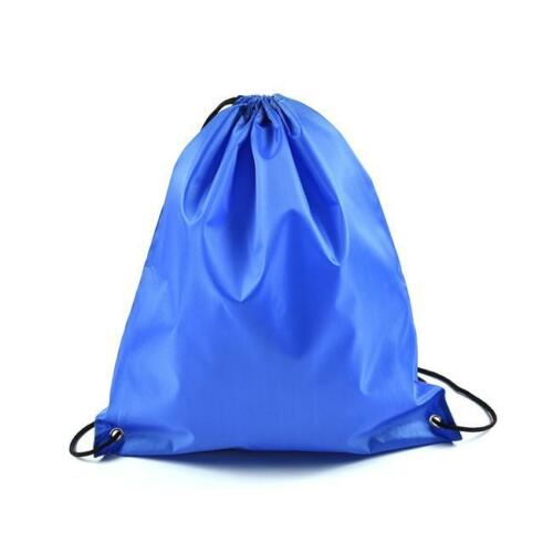 Drawstring Gym Bags Sport Backpack Gymsack for Adults and Children,Sports Bag C