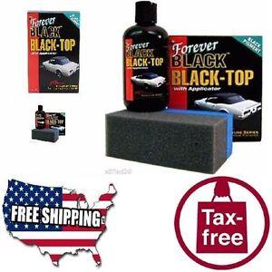 Forever-Car-Care-Products-Black-Top-Gel-amp-Foam-Applicator-Black-COLOR-RESTORING