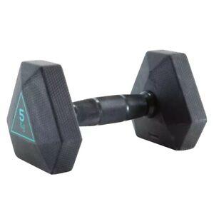 Domyos-Hex-pesa-5-Kg-single-gran-calidad-y-entrega-rapida-Reino-Unido