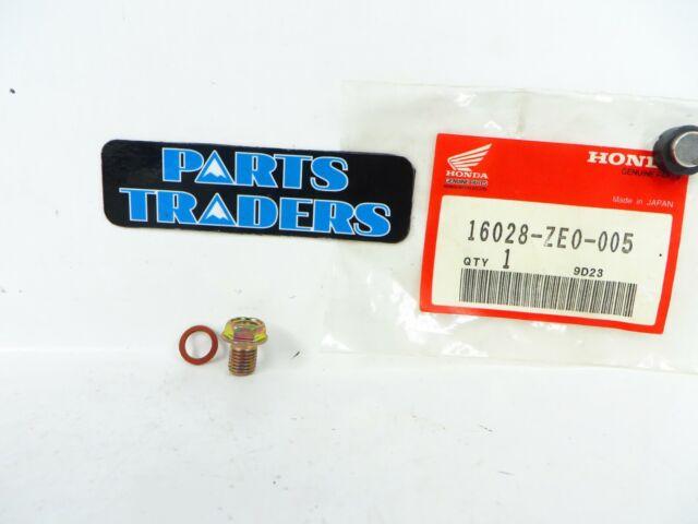 Nos Genuine Honda Carburetor Set Screw E1500k4 E2500k4