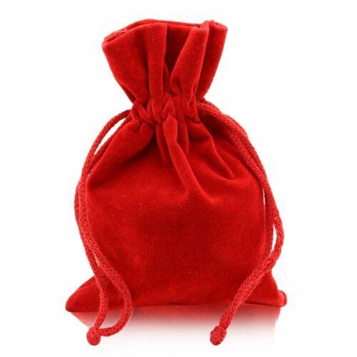 Schmuckbeutel Säckchen Karton Geschenkbox Verpackung Etui Rot Schwarz Golden