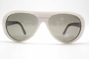 Funk White Smk 61 [] 15 Blanc Ovale Lunettes De Soleil Sunglasses Neuf-afficher Le Titre D'origine Des Biens De Chaque Description Sont Disponibles