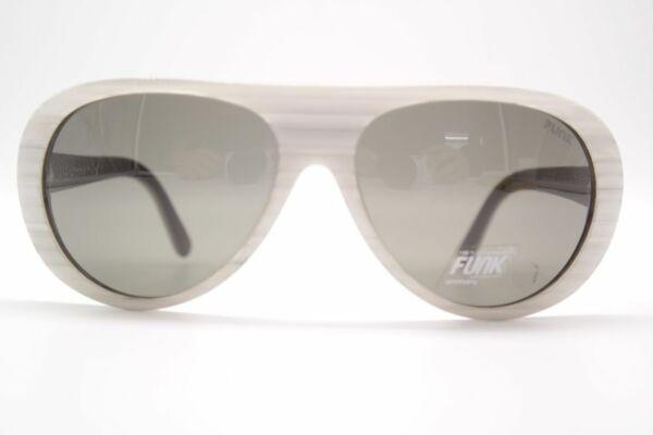 100% Verdadero Funk Blanco Smk 61 15 Blanco Ovalada Gafas De Sol Sunglasses Nuevo EscalofríOs Y Dolores