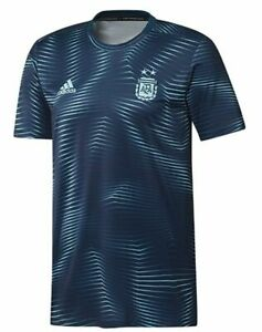 Details about adidas Argentina 2020 Elite Training Soccer Jersey Brand New Navy Blue