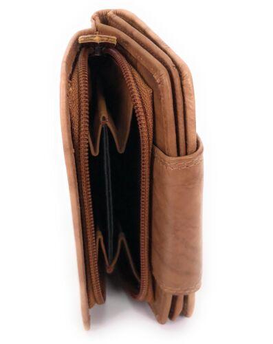 Geldbörse LEDER Damen Portemonnaie Börse Geldbeutel Damenbörse Lederbörse