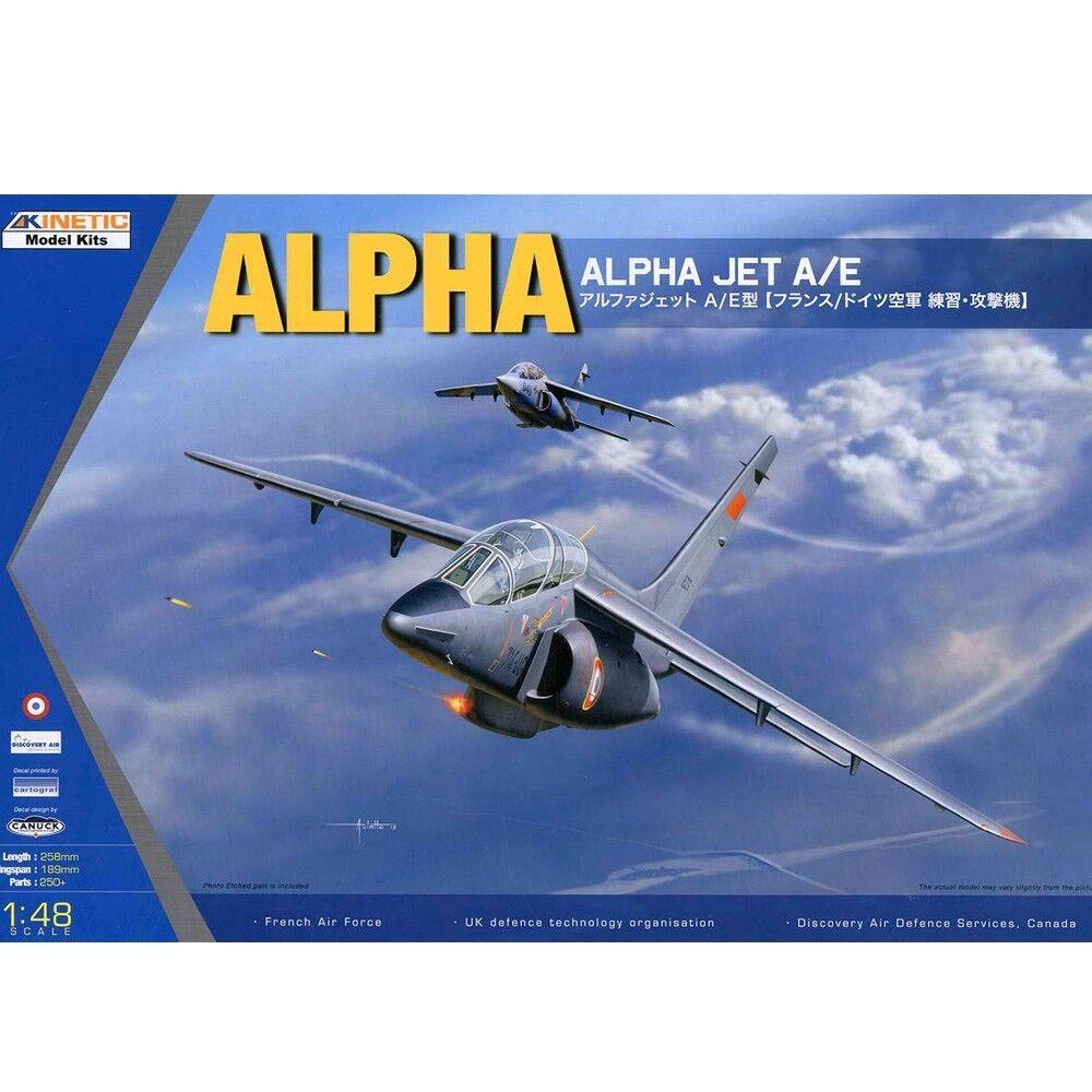 Kinetic 1 48 K48043 Alpha Jet A E Model Kit