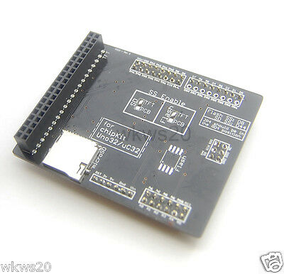 TFT/SD Shield for chipKit Uno32 uC32 LCD Module Adapter 2.8 3.2 Max32 DUE Mega
