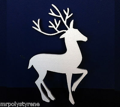 40 POLYSTYRENE CHRISTMAS TREE LARGE DESIGN 570MM HEIGHT 10MM THICK