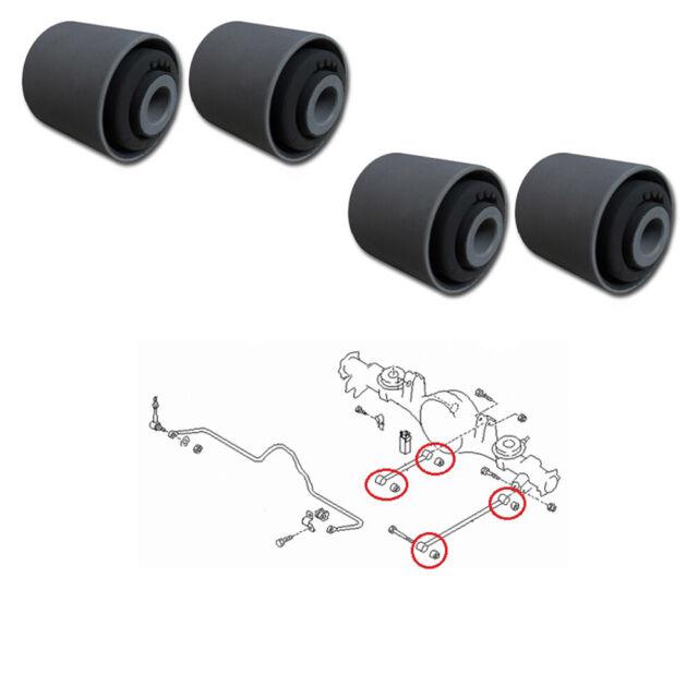 silentbloc bras suspension avant x 4 pour Nissan Patrol / Terrano