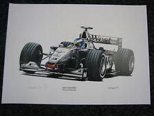 Litho West McLaren-Mercedes MP4-14 1999 #1 Mika Hakkinen (FIN) KW Davies (JS)