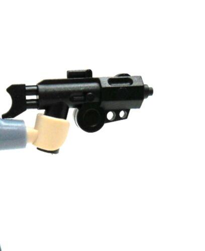 3x Little Arms kompatibel mit LEGO Figuren DC-15 in schwarz
