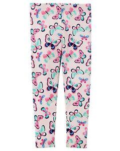Girls' Clothing (newborn-5t) Bottoms Rapture Nuevo Carter's Mariposas Rosadas Leggings Estampados Con Etiqueta Niña 2t 3t 4t