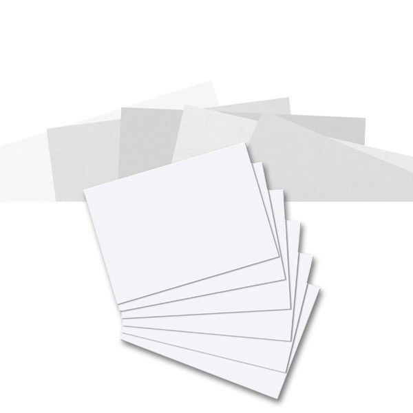 100x herlitz Karteikarten DIN A6 BLANKO weiß 170g//qmKarteikarte Papier Karton