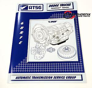 68rfe transmission atsg technical manual for 6 speed dodge truck ebay rh ebay com ATSG Transmission400 ATSG Transmission Tools