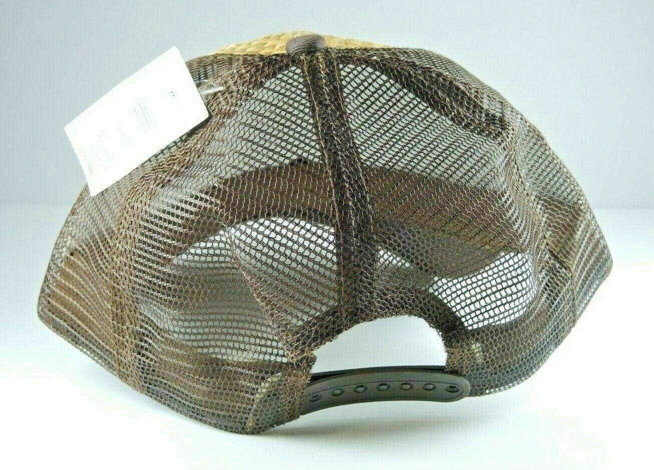 Som-Her Western Straw Eagle Hat Adjustable Strapb… - image 2
