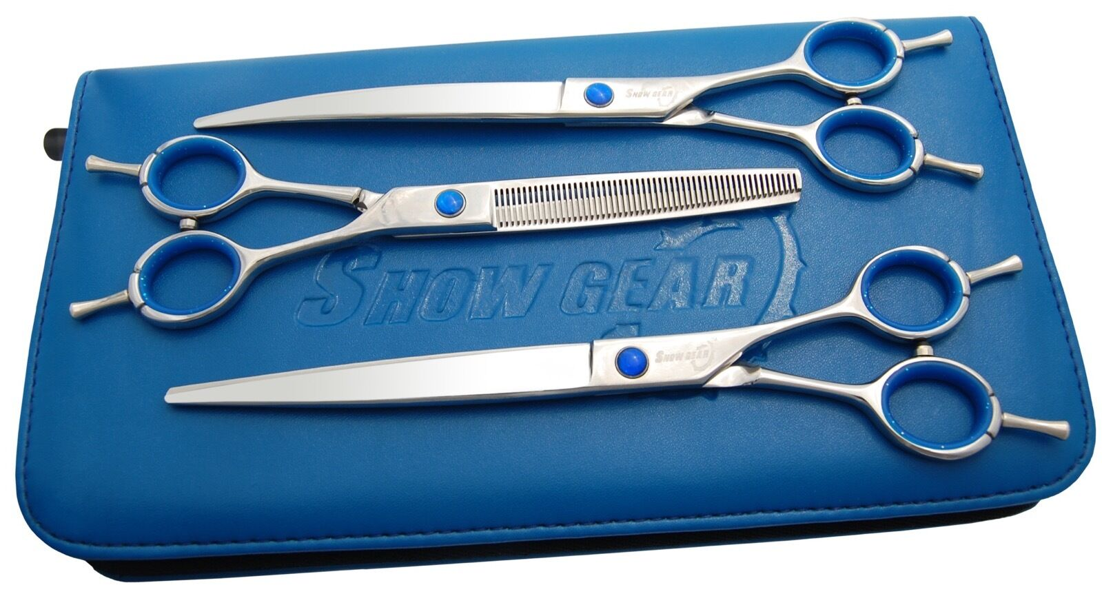 Show Gear Grooming -Supreme Series 7  or 8  Set (righty) or 8  (lefty) Shear Kit