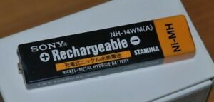 Sony NH-14WM NiMH 1.2v 1400mAh Battery EUROPE ONLY md walkman gumstick