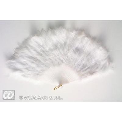 White Feather Fan Moulin Rouge Sexy French Maid Costume Accessorio-mostra Il Titolo Originale Sapore Aromatico