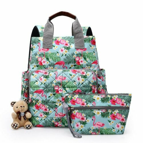 Mummy Nappy Diaper Changing Maternity Bag Baby Travel Nursing Backpack Rucksack