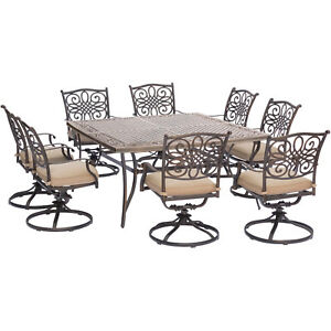 Traditions 9 Piece Square Dining Set