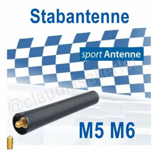 Autoradio Sport Antenne M5 M6 Kurzstab AM//FM für AUDI A1 ab 09.2010 8X1//8XA